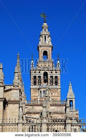 Cathedral & Giralda tower, Seville, Spain.