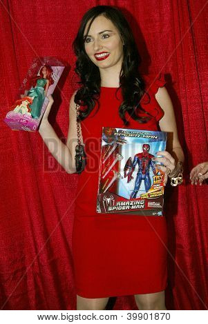 UNIVERSAL CITY - DEC. 4: Ariel Teal Toombs arrives at publicist Mike Arnoldi's birthday celebration & Britticares Toy Drive for Children's Hospital on Dec. 4, 2012 in Universal City, CA.
