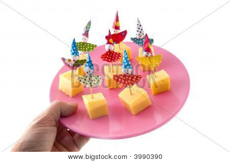Cheese As Party Snack