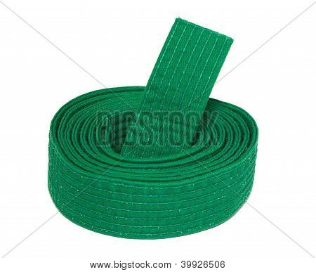 Coiled Karate Green Belt