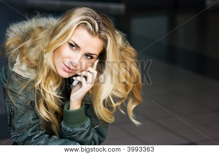Speaking On The Phone
