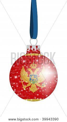 Christmas ball - Montenegro