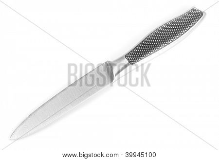 Utility knife isolated on white