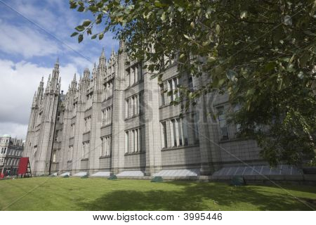 Marshall'S College In Aberdeen, Uk