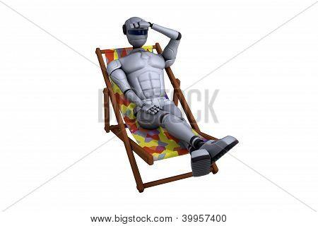 Robot On Rest