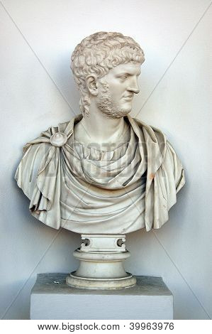 Sculpture (bust) of Nero
