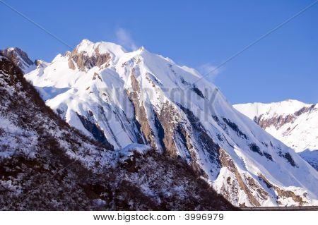 Windy Snowy Peak