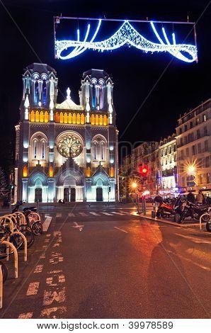 Basilique Notre-dame De L'assomption, Nice ,france
