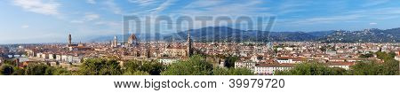 Italy. Florence. Panorama