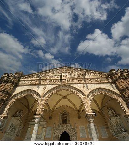 The Cathedral Of Palermo Is An Architectural Complex In Palermo, Sicily, Southern Italy