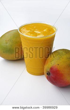 Batido de mango bebida