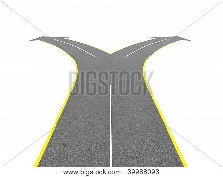 Road Bifurcation