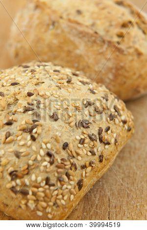Fresh bread closeup