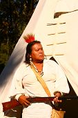 image of snowbird  - A full blood Cherokee who grew up on a portion of the Cherokee reservation in an area called Snowbird - JPG