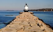 Spring Point Lighthouse, Portland ME, USA