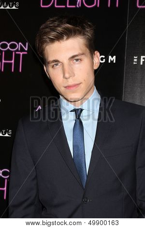 LOS ANGELES - AUG 19:  Nolan Funk at the