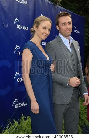 LOS ANGELES - AUG 18:  Alexandra Cousteau, Philippe Cousteau at the Oceana's 6th Annual SeaChange Summer Party at the Beverly Hilton Hotel on August 18, 2013 in Beverly Hills, CA