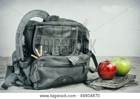 School Theme Still Life