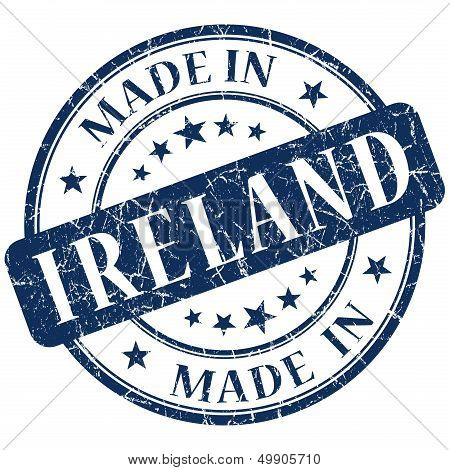 Made In Ireland Blue Stamp