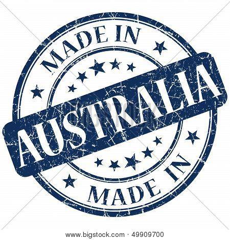 Made In Australia Blue Stamp