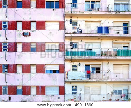 Apartment Building Facade