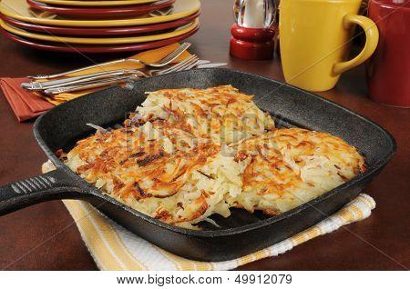 Golden Potato Latkes