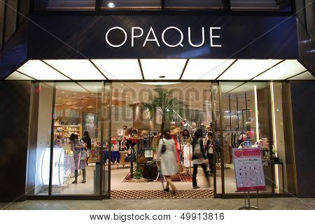 Fashion Store In Japan