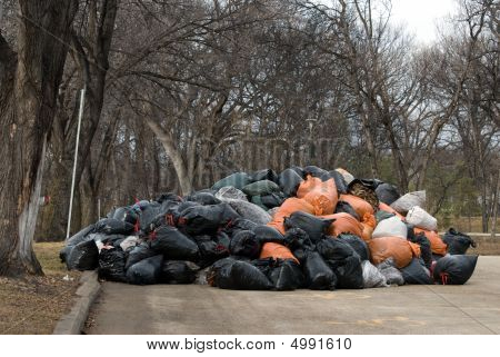 Yard Waste Drop Off Site