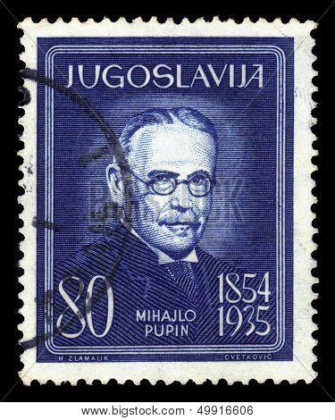 Michael I. Pupin, Serbian Physicist