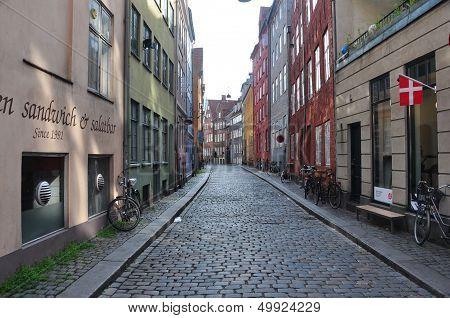 Empty Streets Copenhagen, Denmark