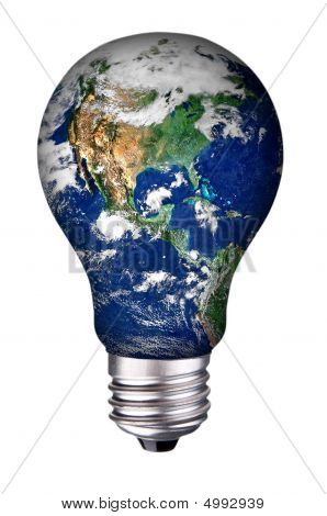 Lightbulb Earth