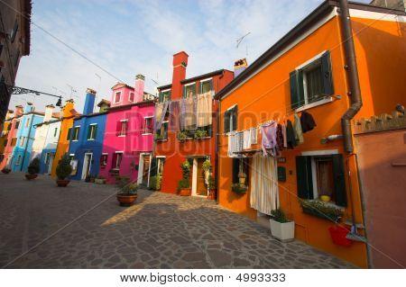 Street Of Burano