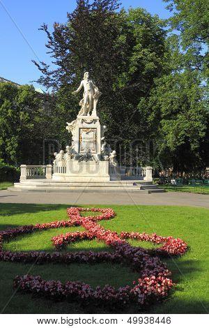 Mozart Memorial Statue