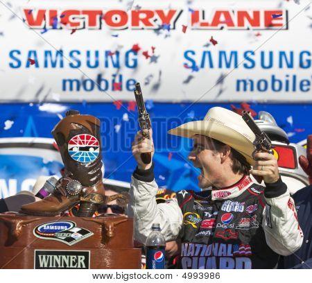 Jeff Gordon Nascar Sprint Cup Series Samsung 500 Apr 5