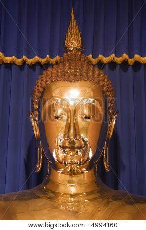 Wat Trai Mit Golden Buddha In Bangkok, Thailand.