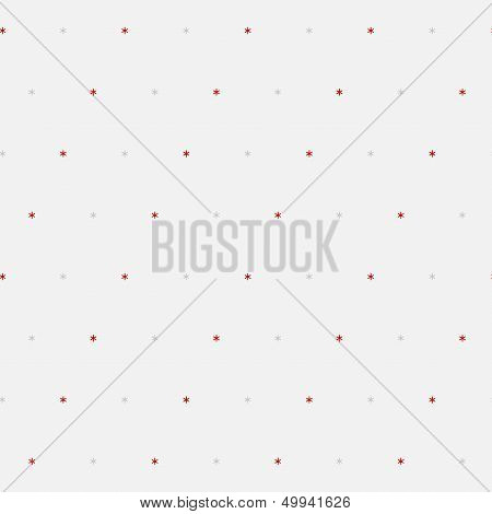 Sample seamless snowflakes background.