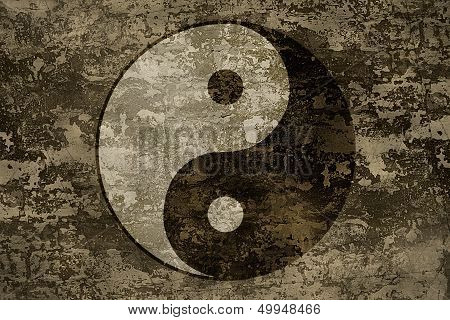 The Ancient Oriental Symbol Of Yin-yang