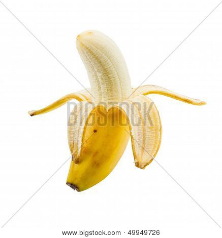 Small Peeled Banana