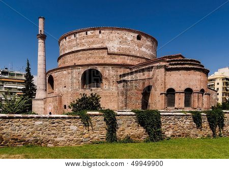 Old Mosque Of Rejep Pasha In Rhodes Town, Greece