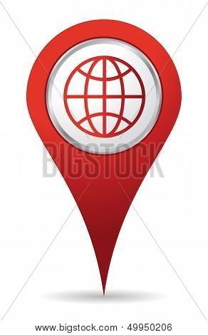 Location World Icon