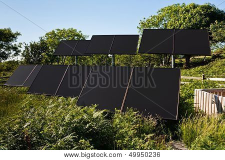 Small Solar Farm For Pumping Water