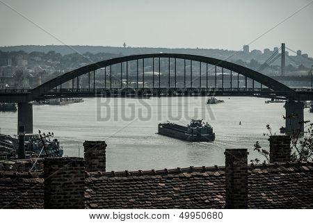 Panorama Of Belgrade, Low-color-depth