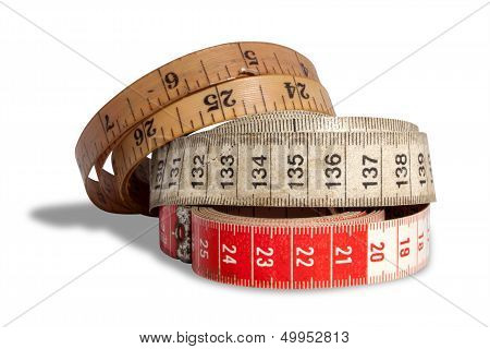 Three Ages Of Measuring Tapes