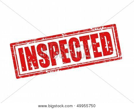 Inspected-stamp