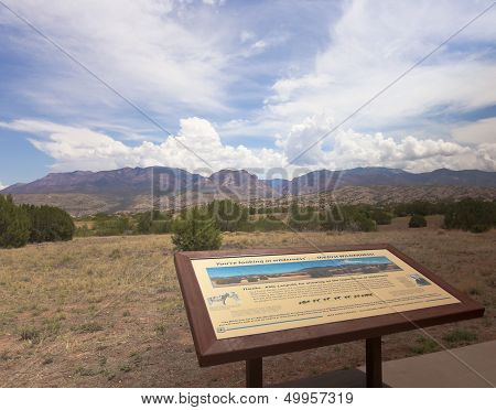 A Gila Wilderness View From Aldo Leopold Vista