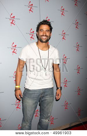 LOS ANGELES - AUG 24:  Ignacio Serricchio at the Young & Restless Fan Club Dinner at the Universal Sheraton Hotel on August 24, 2013 in Los Angeles, CA