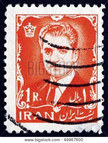 Postage Stamp Iran 1962 Mohammad Reza Shah Pahlavi