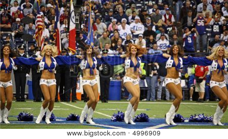 Cowboys Cheerleaders Lineup