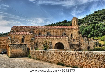 Ancient convent of Vadillo in Frias
