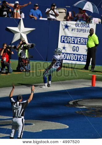Cowboys Bengals Jones Touchdown